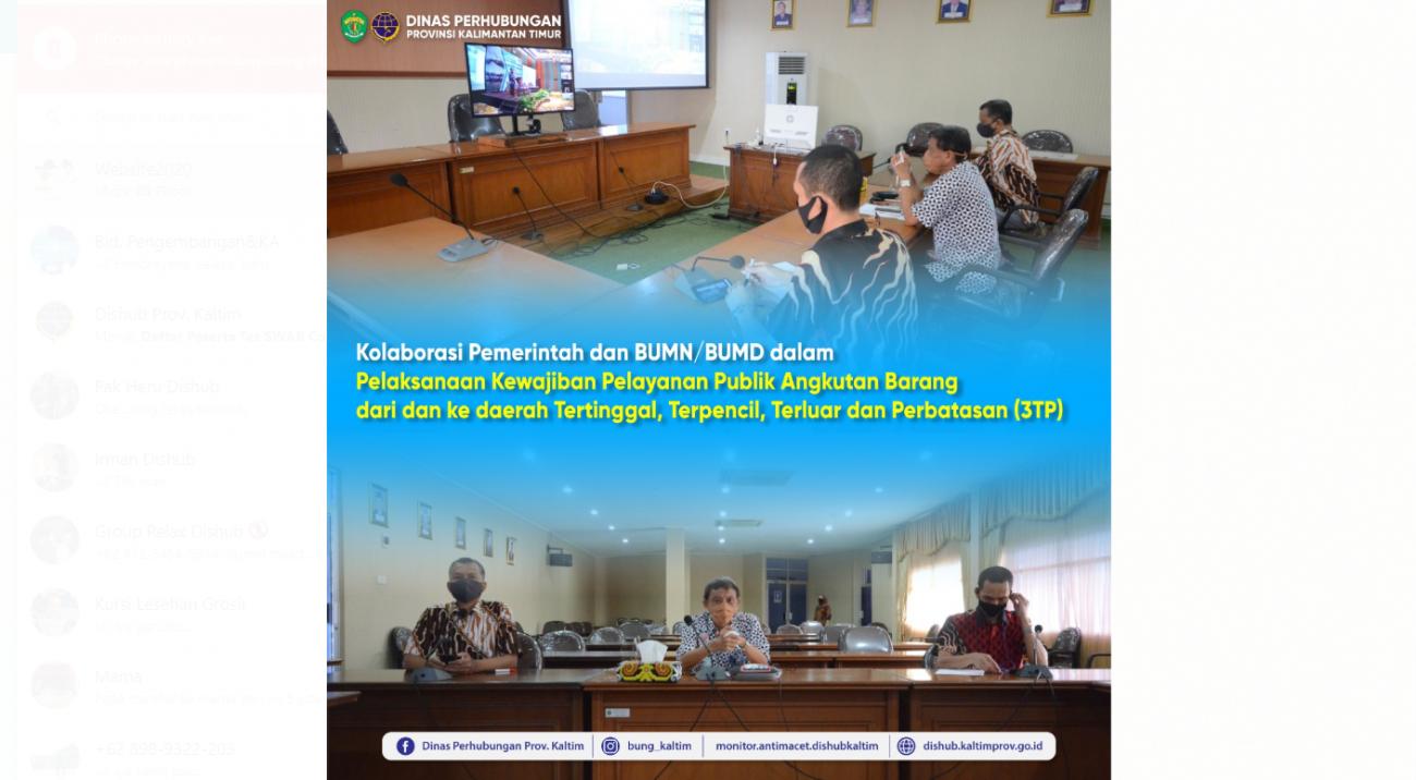 Kolaborasi Pemerintah Dan Bumn/Bumd Dalam Pelaksanaan Kewajiban Pelayanan Publik Angkutan Barang Dari Dan Ke Daerah Tertinggal,Terpencil,Terluar Dan Perbatasan (3TP)