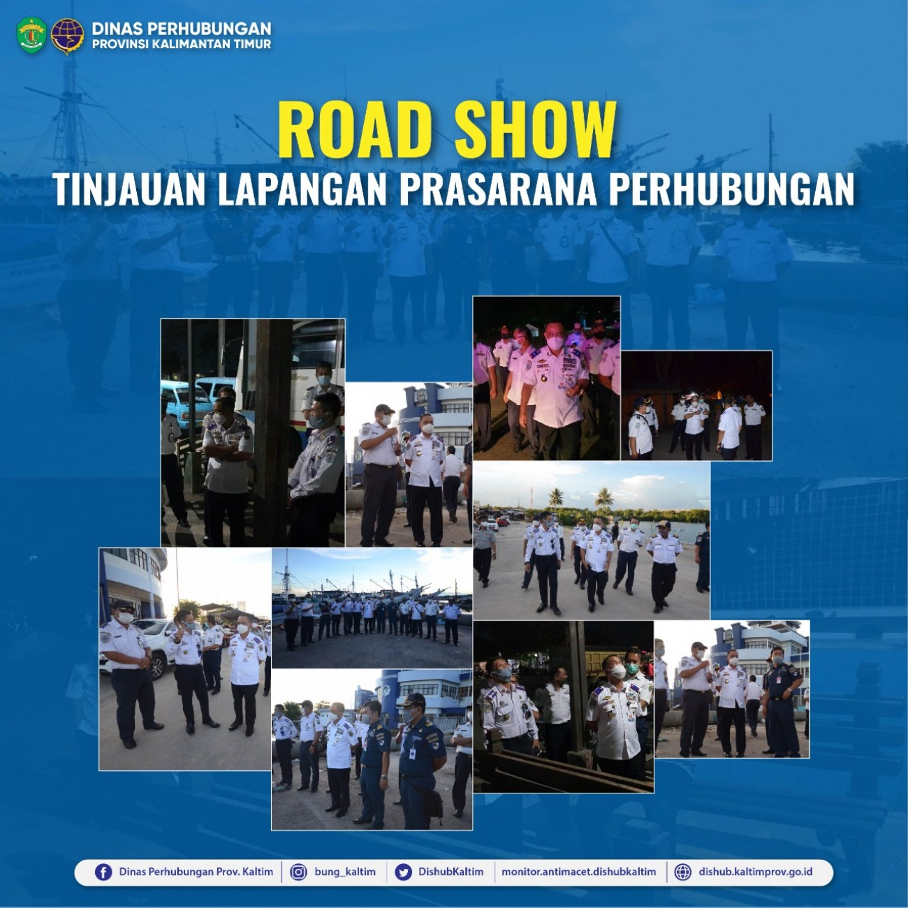 Road Show Tinjauan Lapangan Prasarana Perhubungan