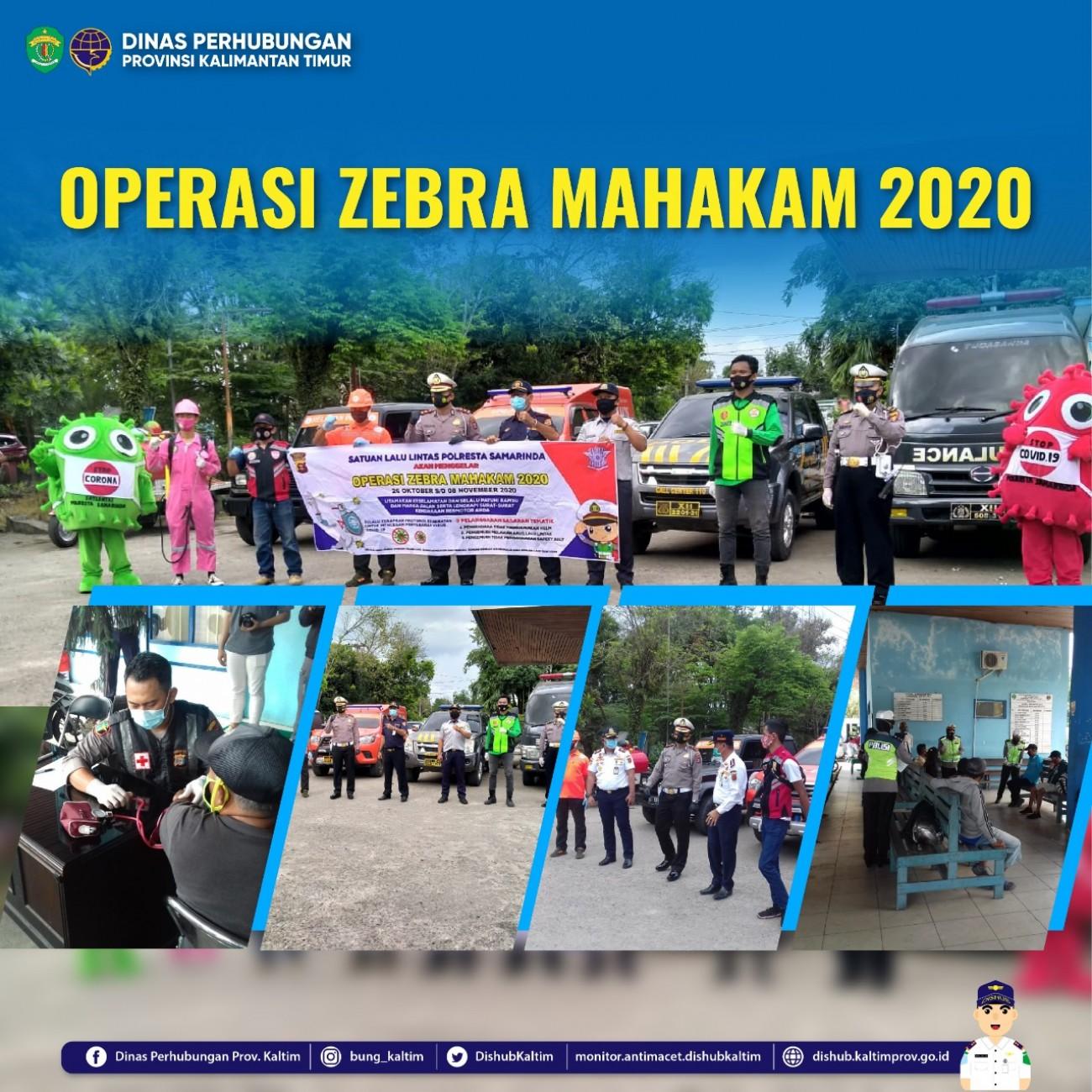 OPERASI ZEBRA MAHAKAM 2020