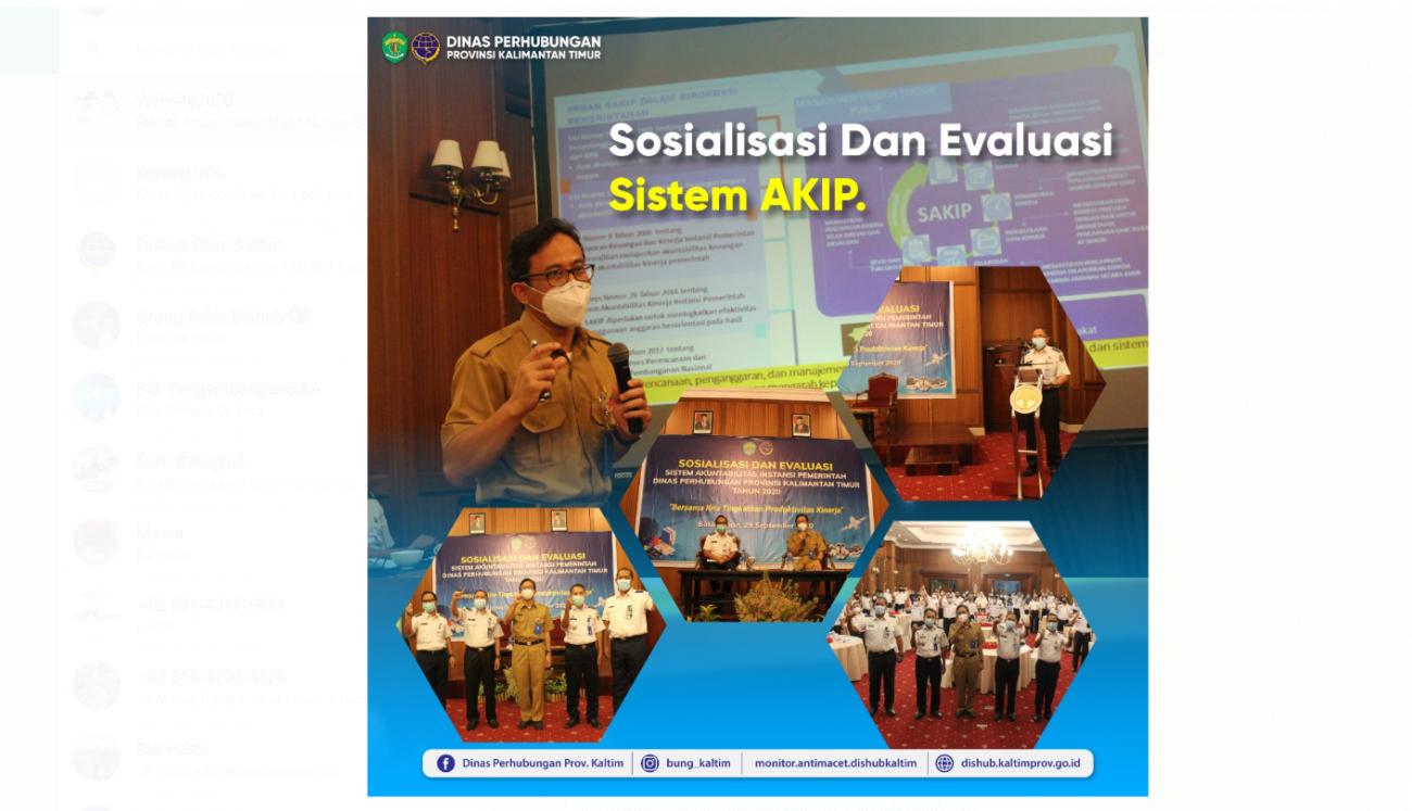 Sosialisasi Dan Evaluasi Sistem AKIP