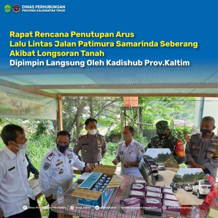 Rapat Rencana Penutupan Arus Lalin Jl. Pattimura.