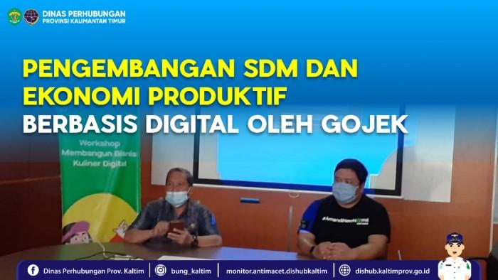 Fasilitasi Pengembangan SDM dan Ekonomi Kreatif berbasis Digital oleh Gojek