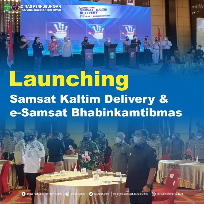Launching Samsat Kaltim Delivery & e-Samsat