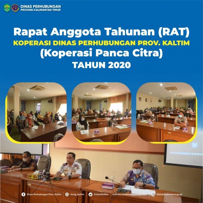 Rapat Anggota Tahunan (RAT) Koperasi Dinas Perhubungan Prov. Kaltim