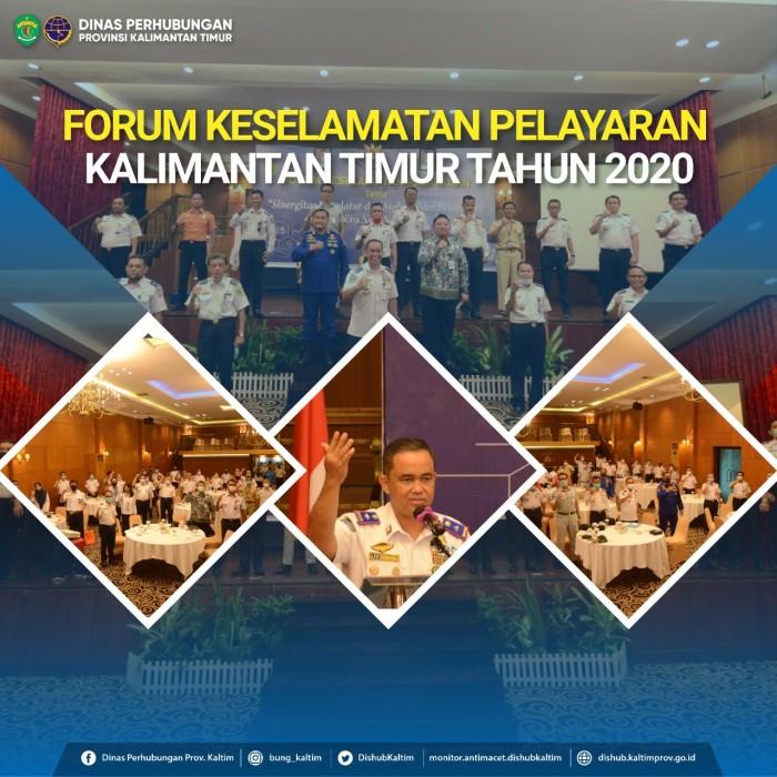 Forum Keselamatan Pelayaran Kalimantan Timur Tahun 2020