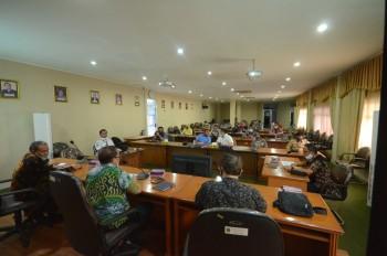 Kunjungan Kerja Komisi III DPRD Kabupaten Berau ke Kantor Dinas Perhubungan Provinsi Kalimantan Timur.