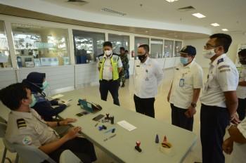 Kunjungan Kerja Kadishub Ke Terminal Lempake dan  Bandara APT. Pranoto