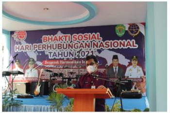 Bhakti Sosial Hari Perhubungan Nasional Tahun 2021